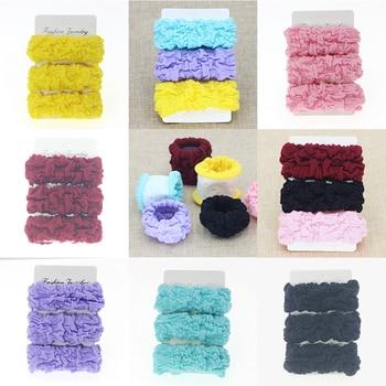 Wysoka elastyczność kobiety podstawowe grube elastyczne opaski do włosów Tie Gum Scrunchie kucyk Holder gumki moda akcesoria do włosów