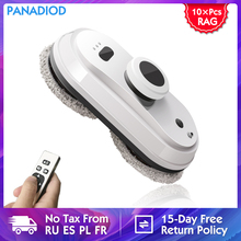 Robot Magnet Window-Cleaner Remote-Control Panadiod Strong-Suction Intelligent Anti-Falling