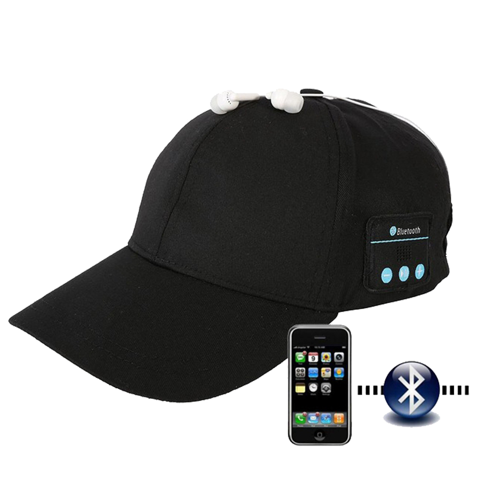 Bluetooth 5.0 Headphones Headset Fasion Baseball Cap Wireless Summer Hats With Stereo Earphone As Gift Men And Women