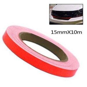 Рулон автомобильной наклейки 0,3 мм 1 шт. Красная оболочка автомобильные аксессуары сменная подкладка автомобильное украшение внешние аксессуары Стайлинг автомобиля 15 мм x 10 м|Наклейки на автомобиль|   | АлиЭкспресс