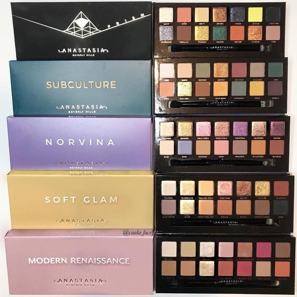 ABH New Anastasia Beverlying Hills Best Pro Eyeshadow Palette Makeup-Highly Pigmented Nudes Warm Natural Cosmetic Eye Shadows