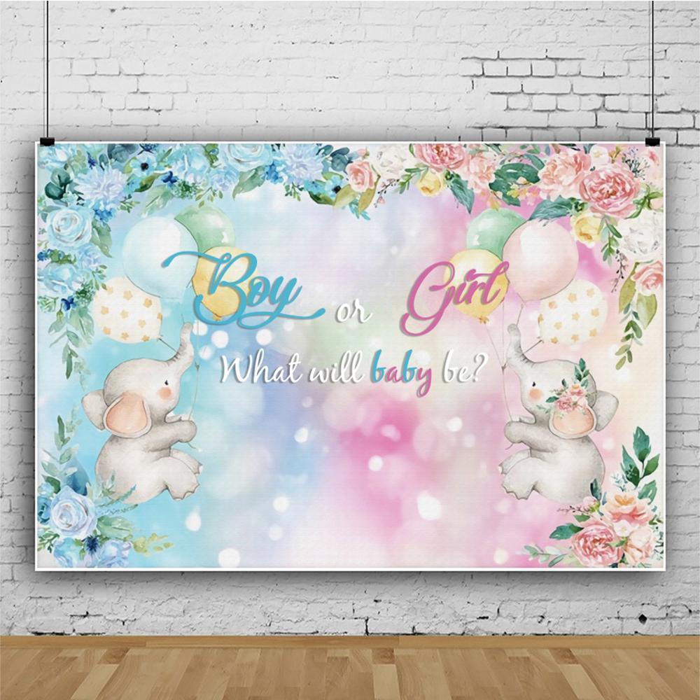 Виниловый фон для фотосъемки новорожденных с изображением цветка