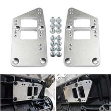 Billet Aluminium Motor Mount Adapter Plates Billet Aluminium For Conversion LS Swap LS Conversion LS1 lzone racing free shipping new throttle body for 92mm gen iii ls1 ls2 ls6 throttle body ls3 ls ls7 sx ls 4 bolt cable jr6937