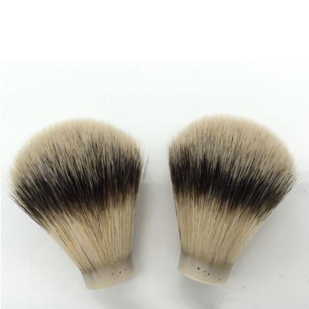 1 pc ponta de prata melhor texugo cabelo masculino cabeça da escova de barbear nó barba cabeça de limpeza aparelho barbear ferramenta
