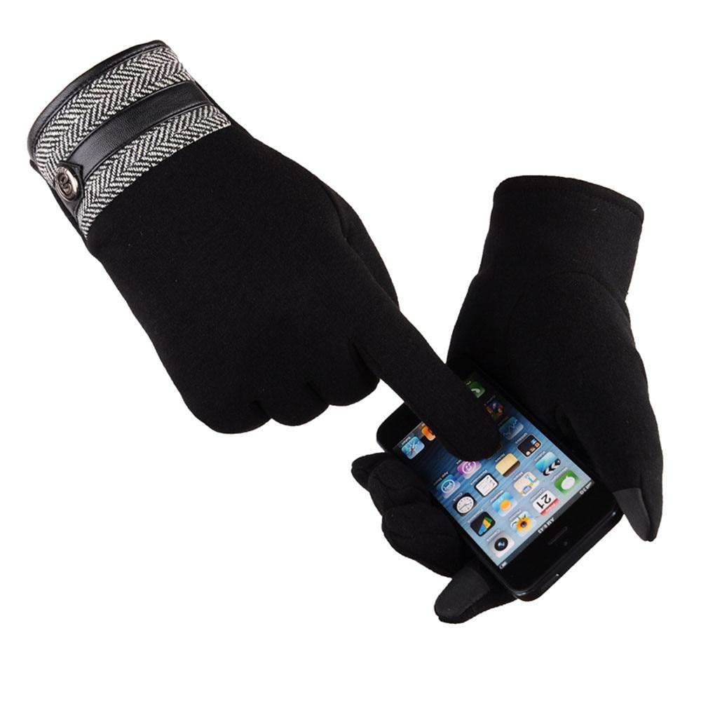 MoneRffi Thermal Ski Gloves Men Women Winter Skiing Fleece Waterproof Snowboard Gloves Touch Screen Motorcycle Warm