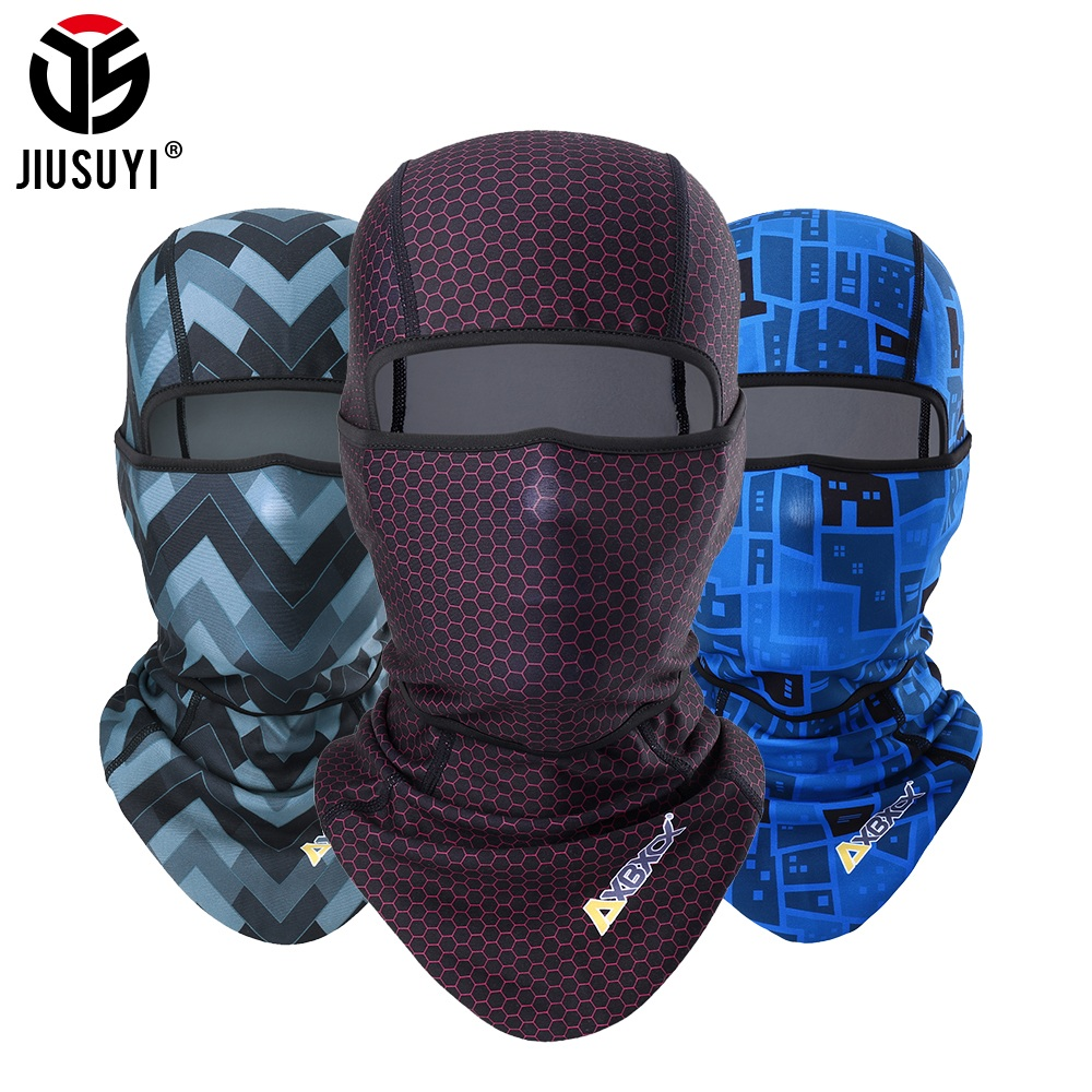 Warm Fleece Balaclava Beanies Winter Face Mask Scarf Winter Hat Windproof Cap Thermal Helmet Liner Head Neck Cover Men Women