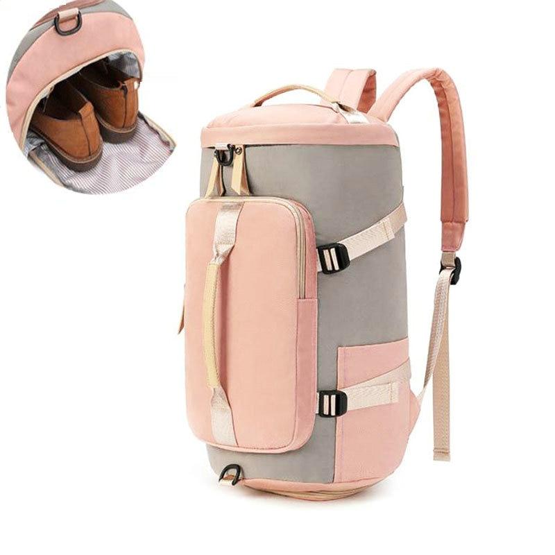 Gyn Bags For Women Fitness Backpack With Shoe Storage Bag Men Trainingl Sack De Sports Bag Travel Laptop Backpack Student Bags