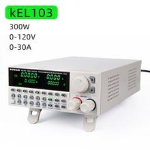 KORAD probador de batería eléctrica profesional, probador de Programación Digital DC de carga electrónica de 300W, 120V 30A, KEL103