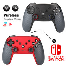 Ming pin Switch Bluetooth Wireless Game Handle with Shaft Somatosensory Compatible Computer Zelda Mario Race Car(China)