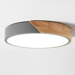 Europa północna lampka do sypialni zwięzłe nowoczesne lampy i latarnie Maka Dragon Room z litego drewna lampa do salonu ultracienka Led w Oświetlenie sufitowe od Lampy i oświetlenie na