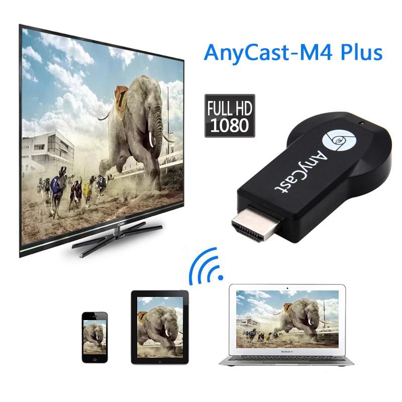 ТВ-Стик Anycast 1080P Chromecast 2 3, зеркальное отображение для DLNA Miracast TV Dongle Chrome WiFi HDMI-совместимый адаптер для IOS Android