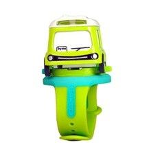 Alloy Toy Car Mini Q Version Car Bus Children Watch Interactive Induction Childr