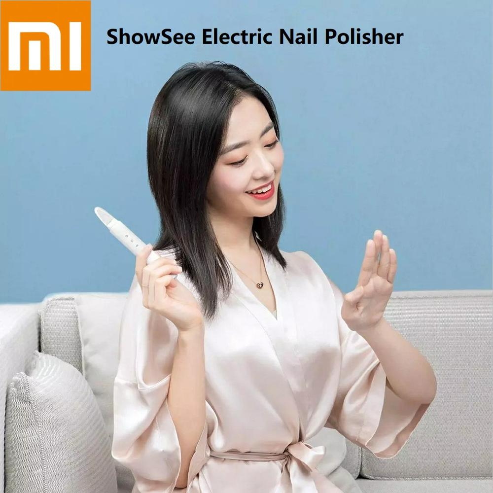 Xiaomi Showsee Electric Nail Polisher Manicure Pedicure Care Grinding Sanding Polishing Home Portable Professional Nail Tool