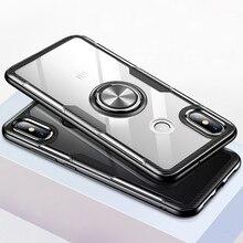 Transparent Silicone Case For Xiaomi Mi 9 8 SE Lite Shockproof Armor M