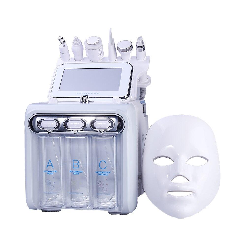 Новое поступление! Многофункциональное устройство для ухода за кожей 7 в 1, антивозрастной Малый пузырь H2O2, водородный кислородный струйный ...