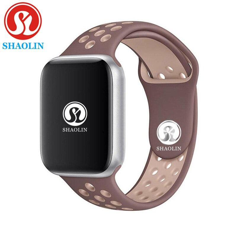 Série 4 SmartWatch Bluetooth Relógio Inteligente para apple iPhone Samsung Android telefone Inteligente Reloj Inteligente pk apple watch 42mm