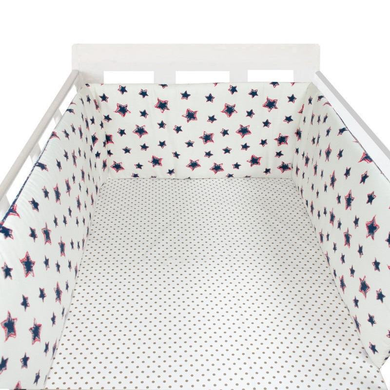 animados 100% algodão espessamento bebê pára-choques conjuntos