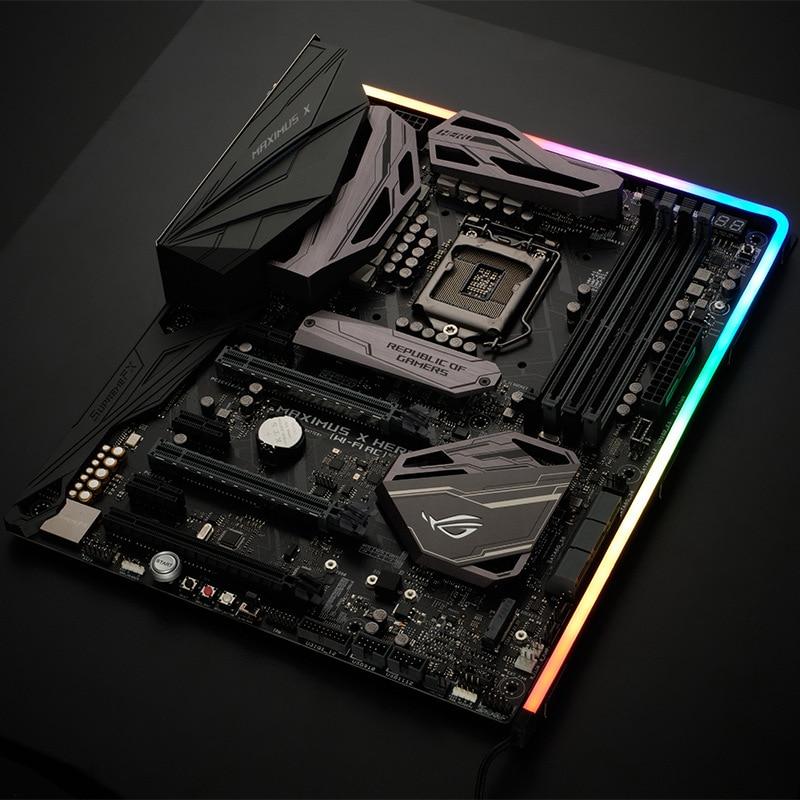 PHANTEKS M1 M5 Light strip ARGB Neon Computer Case Decoration LED Strip 5V 3PIN Light Header AURA 13mm x 5.5mm x 550mm 1000mm