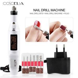 1set Power Professional Electric Manicure Machine Nail Pen Shape Pedicure File Polish Tool Feet Care Product(China)