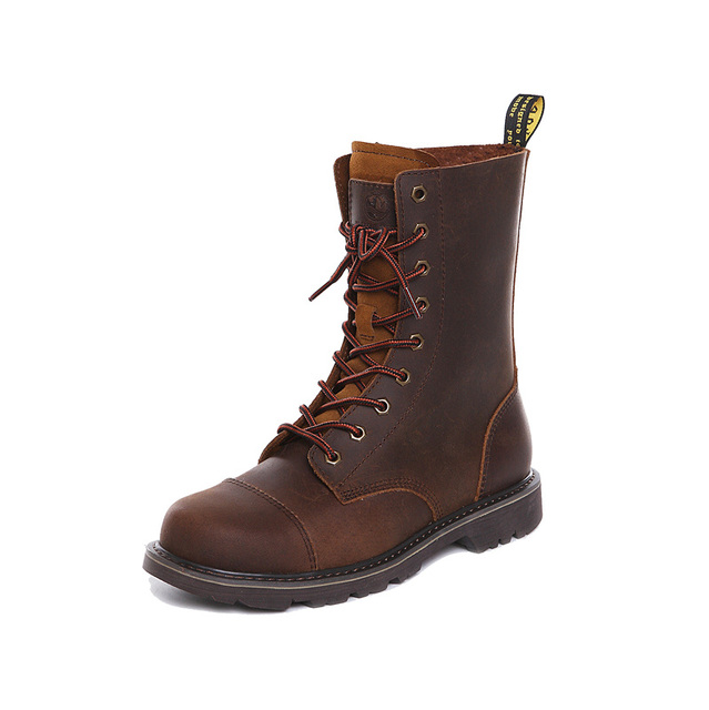 Hiking shoes Men Hunting Boots Tactical shoes Desert Combat Ankle Waterproof sneakers Leather Snow walking high-top Women's shoe 3