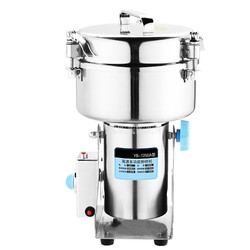 1250 Capacity Commercial Electric Dry Herb Grinding Machine Crusher Pulverizer Stainless Steel Grinder Crush Machine 1250 type
