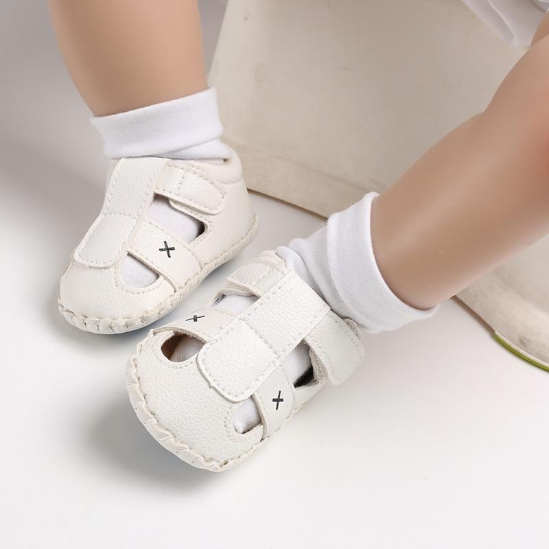 sapatos de verão macio solado antiderrapante calçados berço