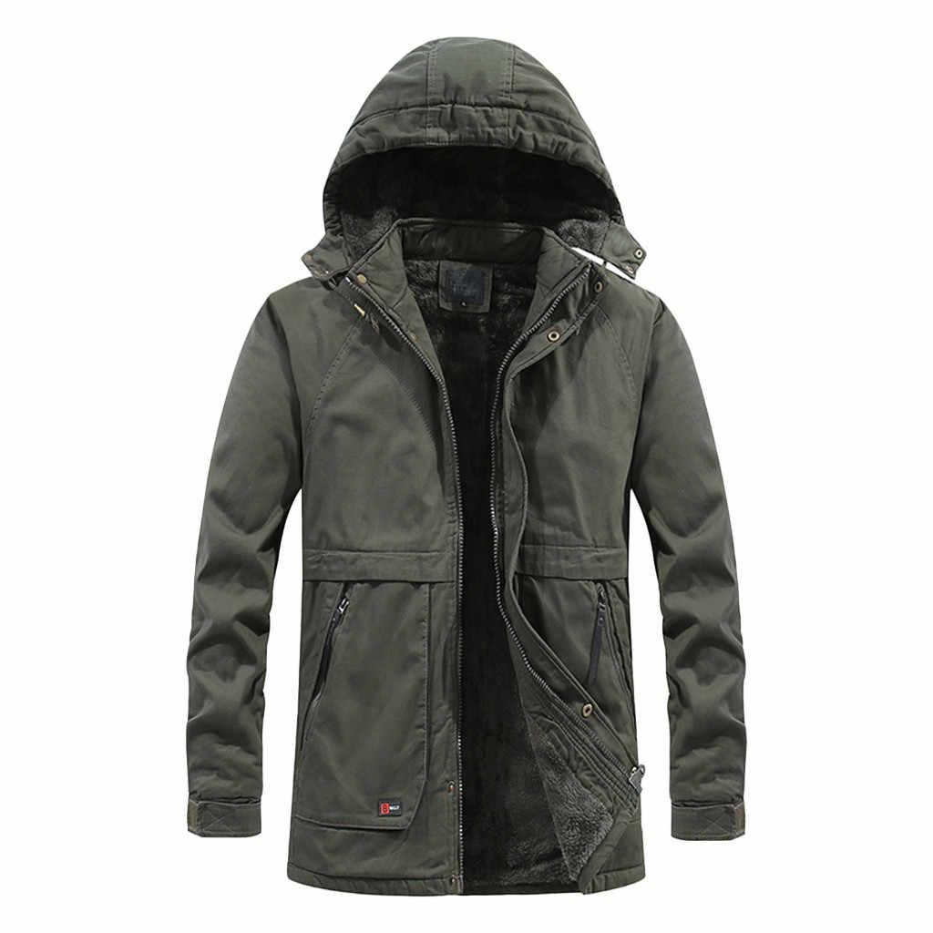 男性の冬のシェルジャケットフード付き防風固体長袖ソフト屋外ハイキングコート防風ハードシェルジャケット戦術布