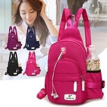 Mochila Oxford Backpack Women Bag Back Girls 2019 Bookbag Youth Para Student Bags pack Woman Pack Black Teen