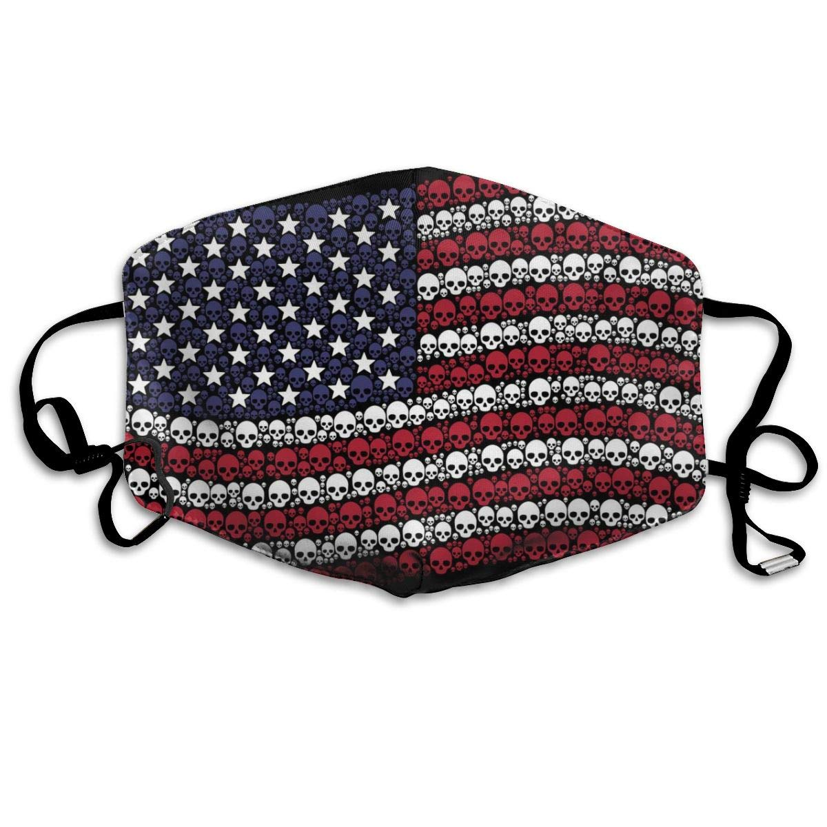 Reusable Comfy Breathable   Air - Outdoor Half Face Masks - Anti Saw Dust Masks - Half Face Mouth Mask For Man Woman Waving USA