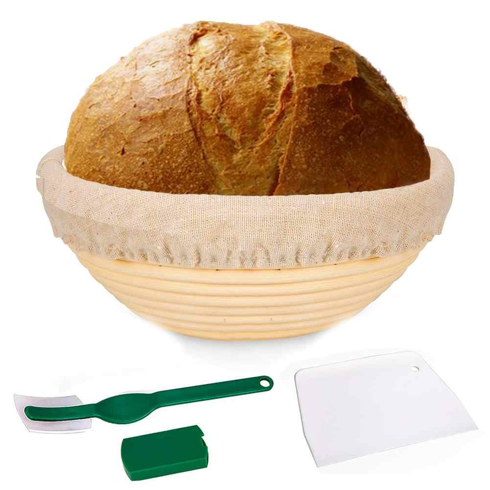 Bread Proofing Proving Baskets Rattan Dough Bannetons Baguette Brotform w//  N#S7