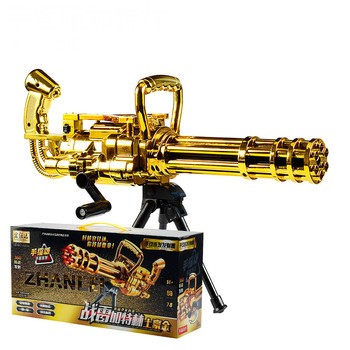 Manual Version Water Guns Can Fire Crystal Bullet Toy Guns for Children Birthday or Holiday Gifts Have a Good Quality