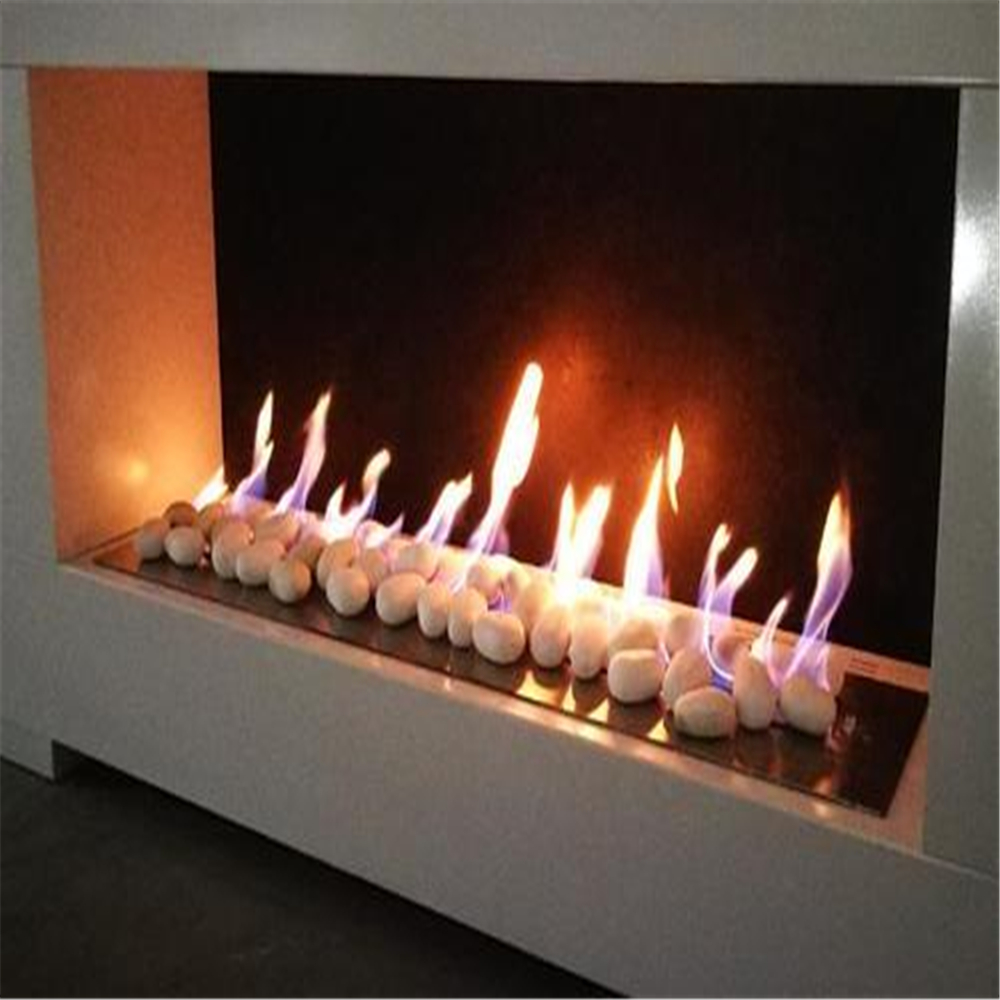 48 Inch Wifi Real Fire Intelligent Auto Smart Bio Ethanol Electric Fireplace Stove