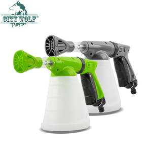 Image 1 - CIty wolf household  high presure washer soap foam gun garden water nozzle car wash soap watering  connect with the water tap