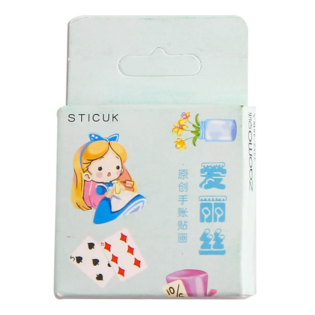 40 Pcs/Pack Kawaii Flowers Pattern Decoracion Diary Christmas Stickers Scrapbooking Stationery Sticker Student Supplies 5