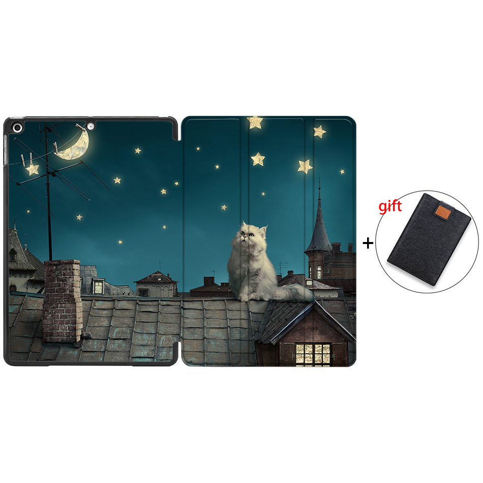 IP13 Orange MTT Tablet Case For iPad 10 2 inch 7th 8th Generation 2019 PU Leather Flip Stand