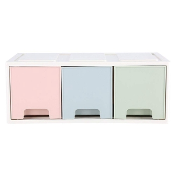 Desktop Drawer Organizer Desktop Office Storage Box Container with Craft Office Items Cosmetic