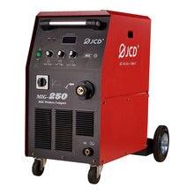 Jcd mig 250 полуавтоматической сварки машины инвертор для биполярного