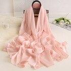 Women Silk Scarves 2...