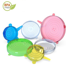 Reusable Silicone Cover Stretch-Lids-Caps Cookware Kitchen-Accessories Food for Fruit