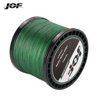 JOF 4 Strands Braided Fishing Line Multifilament 300M 500M 1000M Carp Fishing Japanese Braided Wire All For Fishing Accessories