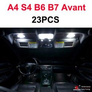 Image 5 - Idealny biały błąd Canbus bezpłatne żarówki LED wnętrze kopuły mapa napowietrznych zestaw oświetleniowy dla Audi A4 S4 RS4 B5 B6 B7 B8 ( 1996 2015)