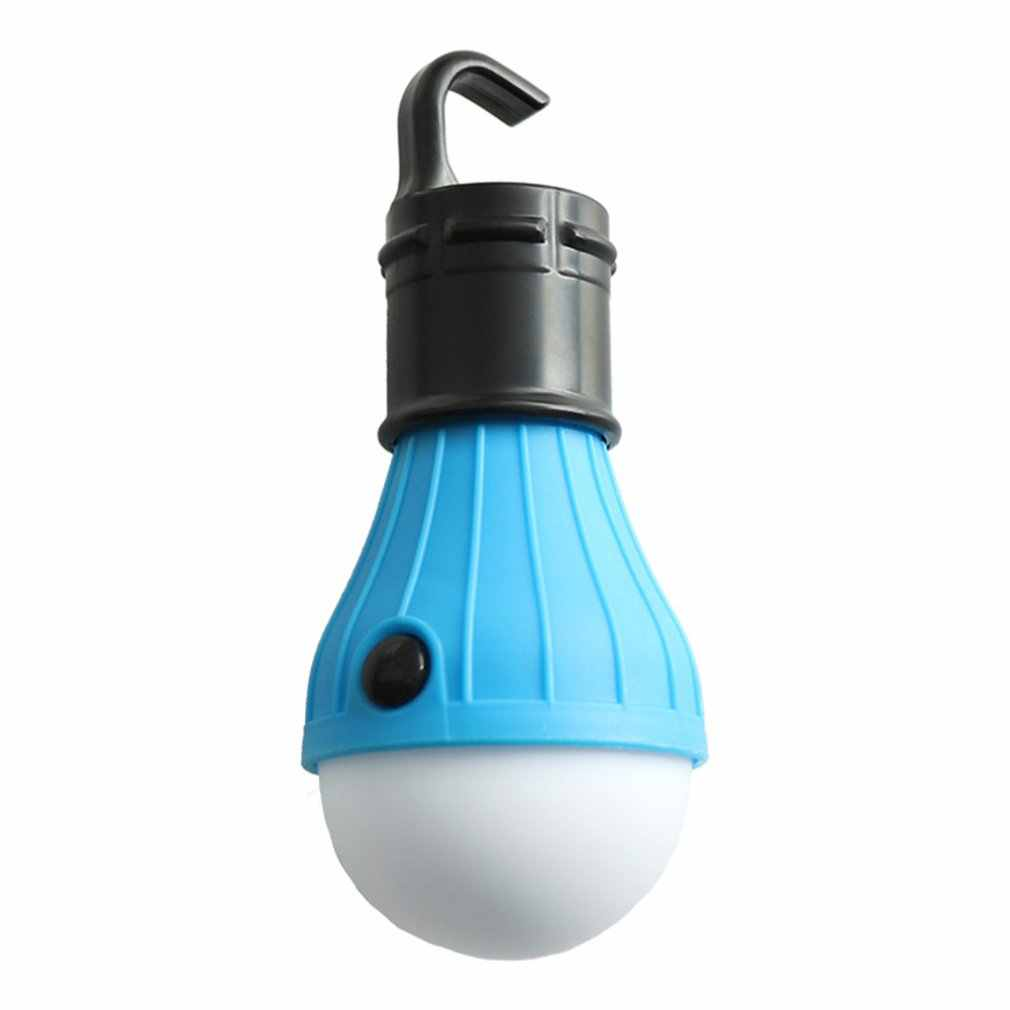 Outdoor Waterproof Spherical Camping Light Tent Light Led Portable Hook Mini Emergency Camping Light Night Market Light Dropship