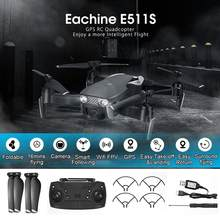 Eachine E511S RC Drone 5G 1080P della Macchina Fotografica di GPS Seguire WIFI FPV Video Dinamico Con Quadcopter Elicottero VS XS816 SG106 F11 S167 Dro