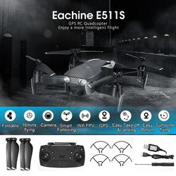 Eachine E511S RC Drone 5G 1080P Camera GPS Dynamic Follow WIFI FPV Video With Quadcopter Helicopter VS XS816 SG106 F11 S167 Dro
