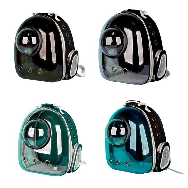 Фото панорамный прозрачный легкий рюкзак переноска для домашних животных цена