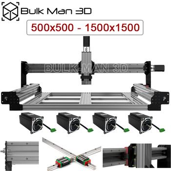 QueenBee PRO zestaw mechaniczny CNC szyna liniowa zmodernizowana z systemem napinania śrubowego CNC Router grawer tanie i dobre opinie BULK-MAN 3D CN (pochodzenie) Zestaw mechaniczny Części wyposażenia QBP- QueenBee PRO CNC Machanical Kit 500mmx500mm~1500mmx1500mm