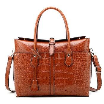 New PU Briefcase Female Models Laptop Bag Ladies Office Shoulder Сумки Женские Кожаные