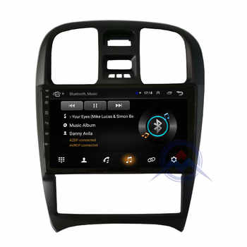 ZOHANAVI 4G+64G Android Car DVD gps for Hyundai sanata Sanat EF Tagaz 2007 2004-2009 CAR radio stereo multimedia player