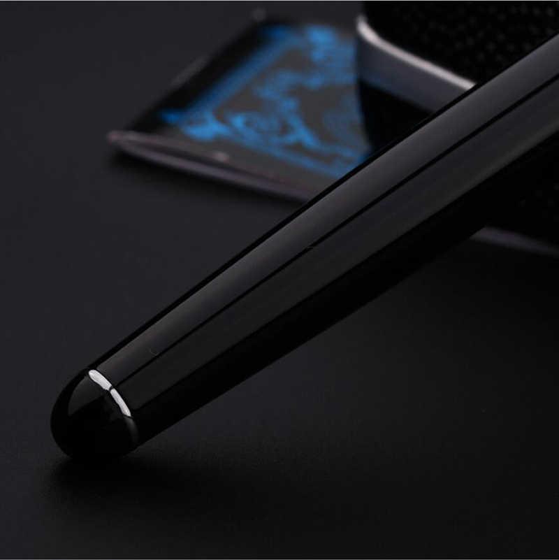 Frete Grátis Original D2 Duke Fountain Pen Escritório Executivo de Negócios Caneta de Presente de Luxo Pode Gravura Comprar 2 Canetas Envie Um Presente