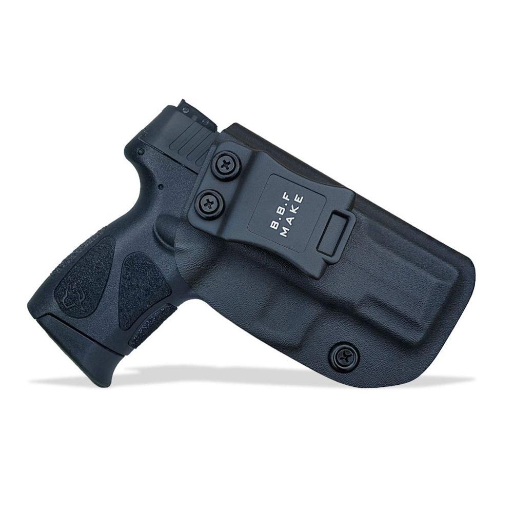 BBF Make Iwb Kydex Gun Holster Fit: Taurus G2c/pt111 G2/pt140 권총 케이스 내부 숨겨진 캐리 건 파우치 액세서리 가방